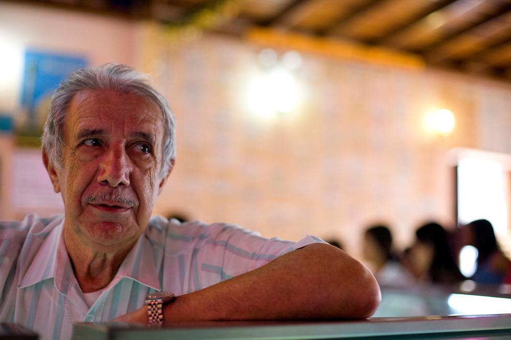 Venezuela_VEN, Venezuela...Retrato de homem idoso em Caracas, capital da Venezuela...Portrait of elderly man in Caracas, Venezuela...Foto: JOAO MARCOS ROSA / NITRO