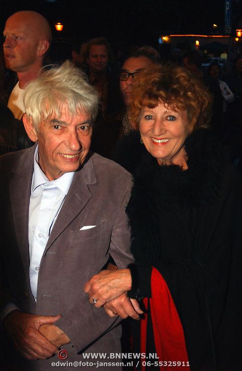 Premiere Ramses, Aad Veldhoen en Hedy d'ancona