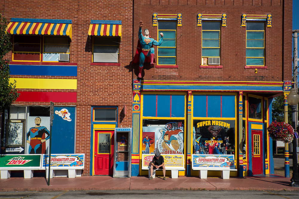 USA, Midwest,Massac County, Illinois, Metropolis, Super museum