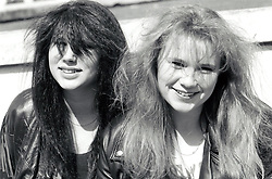 Teenage girls, UK 1989