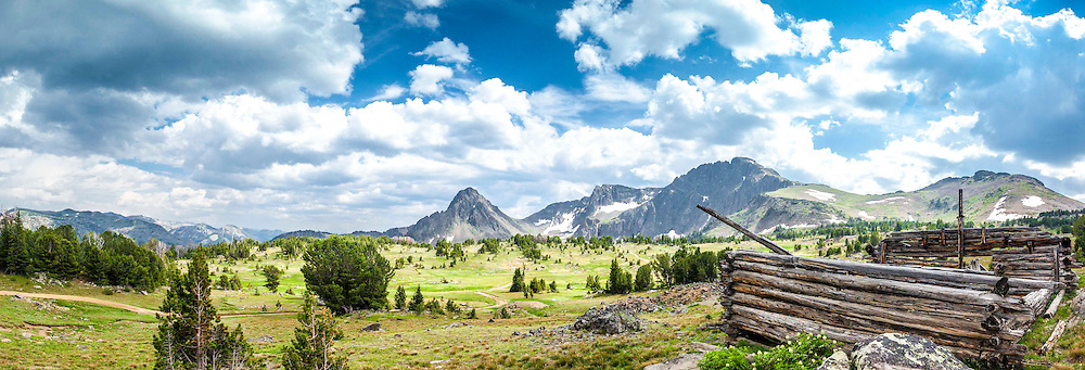 Blue Lake Valley, deep in the wilderness of southeastern Montana.