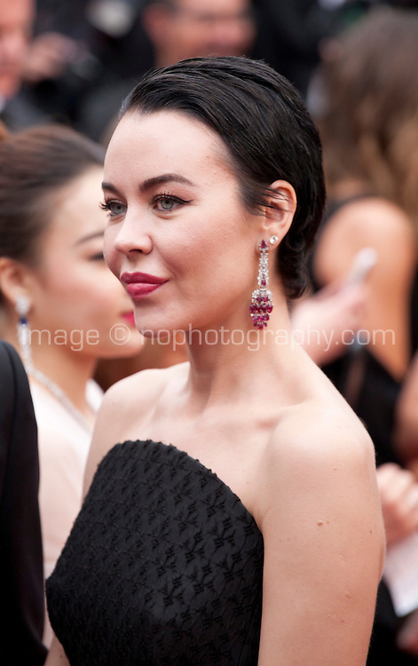 Designer Ulyana Sergeenko at the gala screening for the film The BFG at the 69th Cannes Film Festival, Saturday 14th May 2016, Cannes, France. Photography: Doreen Kennedy