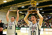 Vermont State Boys Basketball Championship - Rice vs. Mount Mansfield 03/08/12