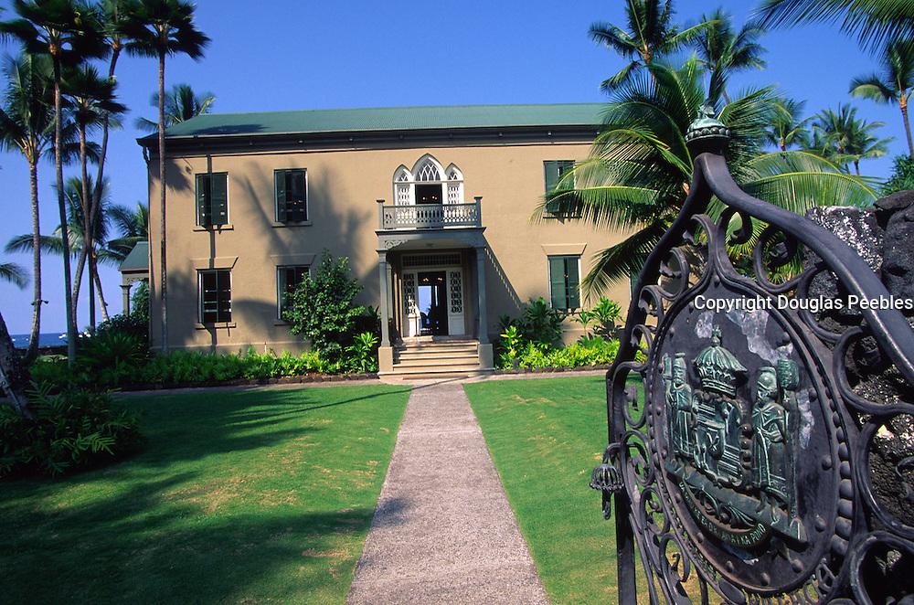 Hulihe'e Palace, Kailua-Kona, Island of Hawaii<br />