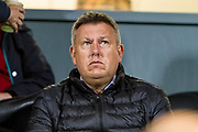 Leicester City manager Craig Shakespeare watches the action during the EFL Sky Bet Championship match between Burton Albion and Aston Villa at the Pirelli Stadium, Burton upon Trent, England on 26 September 2017. Photo by Richard Holmes.