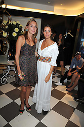Left to right, CAMILLA STOPFORD-SACKVILLE and MARINA HANBURY at the PPQ of Mayfair Summer Party at 47 Conduit Street, London on 30th July 2008.<br /> <br /> NON EXCLUSIVE - WORLD RIGHTS