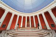 Runde Kirche St. Ludwig, innen, Säulen, Darmstadt, Hessen, Deutschland | Round Church St. Ludwig, Darmstadt, Hesse, Germany