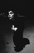 In black at night with candle - One Woman Show