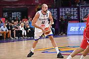Marco Cusin<br /> Nazionale Italiana Maschile Senior<br /> Eurobasket 2017 - Final Phase - 1/4 Finals<br /> Italia Serbia Italy Serbia<br /> FIP 2017<br /> Istanbul, 13/09/2017<br /> Foto M.Ceretti / Ciamillo - Castoria