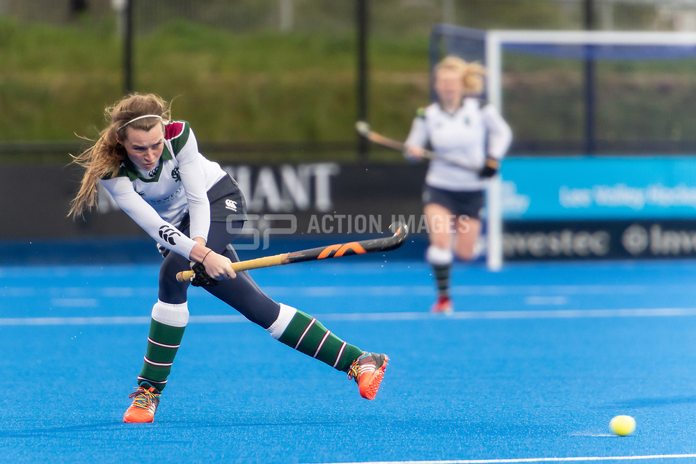 Holcombe v Surbiton - Investec Women's Hockey League Final, Lee Valley Hockey & Tennis Centre, London, UK on 29 April 2018. Photo: Simon Parker