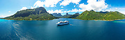 Opunohu Bay, Moorea, Society Islands, French Polynesia; South Pacific