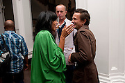 SERENA REES; JOHNNIE SHAND-KYDD; JERRY STAFFORD; , KM3D-1 Film screening made by Baillie Walsh of Kate Moss. Hosted by another magazine. Hanuch of Venison. London. 16 Septemebr 2010.  -DO NOT ARCHIVE-© Copyright Photograph by Dafydd Jones. 248 Clapham Rd. London SW9 0PZ. Tel 0207 820 0771. www.dafjones.com.