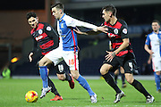 Blackburn Rovers Tom Lawrence during the Sky Bet Championship match between Blackburn Rovers and Queens Park Rangers at Ewood Park, Blackburn, England on 12 January 2016. Photo by Pete Burns.
