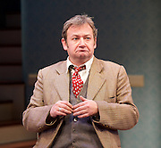 Harvey<br /> by Mary Chase <br /> at Birmingham Rep Theatre, Birmingham, Great Britain <br /> Press photocall <br /> 11th February 2015<br /> <br /> <br /> James Dreyfus as Elwood P Dowd <br /> <br /> <br /> <br /> Directed by Lindsey Posner<br /> <br /> <br /> Photograph by Elliott Franks
