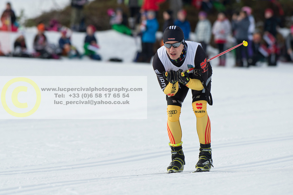 MESSINGER Nico Guide: BURCHARTZ PL, GER, Short Distance Biathlon, 2015 IPC Nordic and Biathlon World Cup Finals, Surnadal, Norway