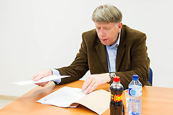 Drago Bahun during meeting of Executive Committee of Ski Association of Slovenia (SZS) on March 10, 2014 in SZS, Ljubljana, Slovenia. Photo by Vid Ponikvar / Sportida