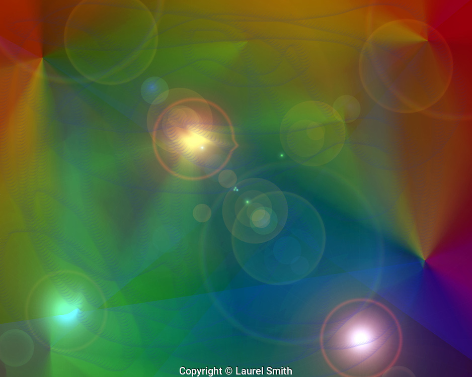 Symphony of Light #79-B ~ Wandering Into Other Worlds ~ © Laurel Smith