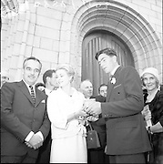 15/06/1961<br /> 06/15/1961<br /> 15 June 1961<br /> <br /> A Royal Visit to Ireland by Princess Grace and Prince Rainier of Monaco. The royal couple at Westport, Co. Mayo. Princess Grace being presented with a Connemara marble chest by her relatives.