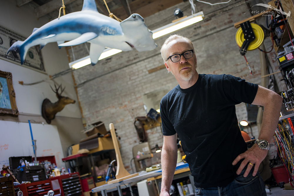 Adam Savage in The Cave