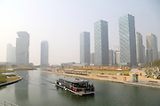 Songdo in Incheon, west of Seoul April 2014. Photo by Lee Jae-Won (SOUTH KOREA) www.leejaewonpix.com/