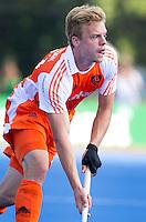 UTRECHT - Mink van der Weerden van Oranje ,zaterdag tijdens de  hockey interland tussen de mannen van Nederland en Duitsland (4-2). COPYRIGHT KOEN SUYK