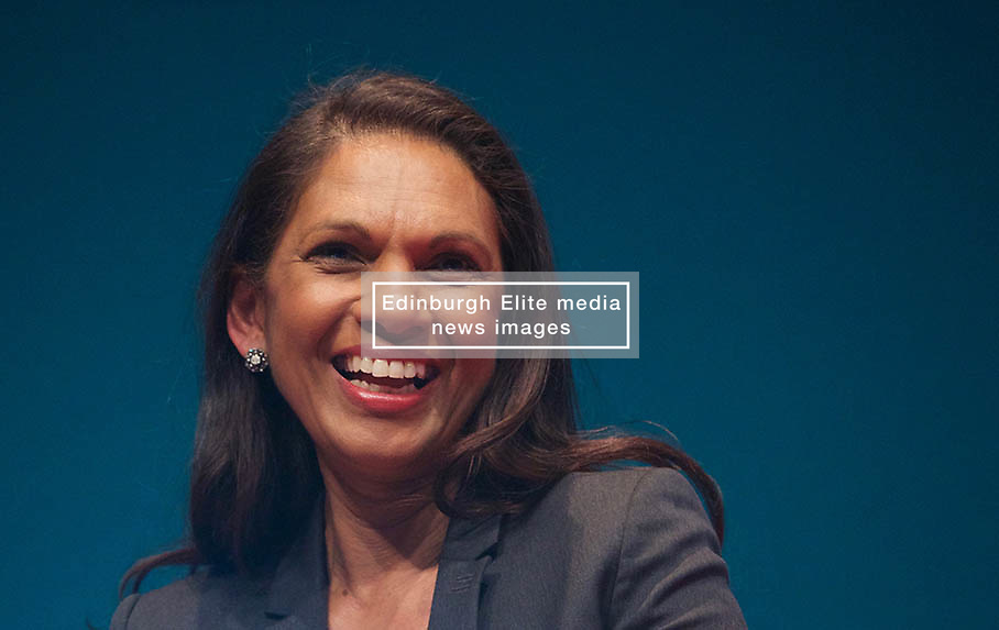Brexit campaigner Gina Miller addressed Pensions and Lifetime Savings Association conference in Edinburgh 09032018 pic copyright Terry Murden @edinburghelitemedia 07971 686038
