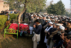DEC 17 2014  Funeral ceremony of victims from militant attack