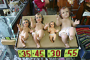 Baby Jesus dolls, Cuernavaca, Morelos, Mexico.