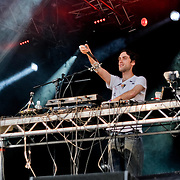 Beardyman at Camp Bestival 2011