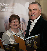 Paul Fahy, Galway International Arts Festival Artistic Director with actor