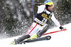 HOERL Wolfgang of Austria during the 1st Run of Men's Slalom - Pokal Vitranc 2013 of FIS Alpine Ski World Cup 2012/2013, on March 10, 2013 in Vitranc, Kranjska Gora, Slovenia.  (Photo By Vid Ponikvar / Sportida.com)