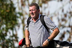 Suart Naylor joins Wilcox Warriors take part in the Annual Bristol Rovers Golf Day - Rogan/JMP - 09/10/2017 - GOLF - Farrington Park - Bristol, England - Bristol Rovers Golf Day.