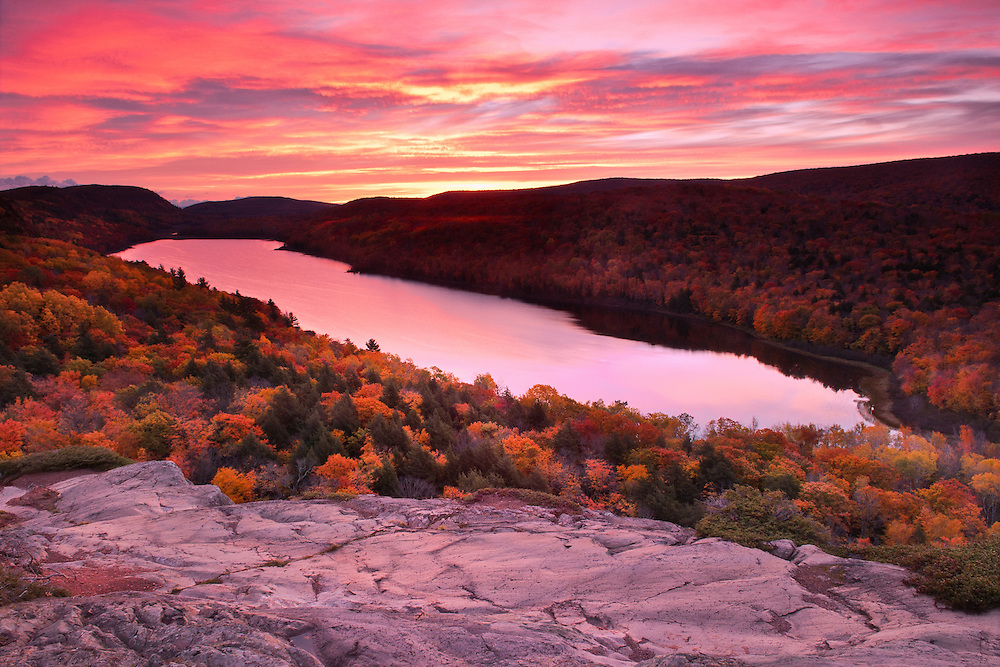Lake of the Clouds, Porcupine Mountains<br />