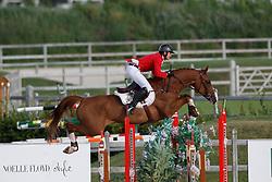 Morssinkhof Simon, BEL, Perigrosso<br /> Juniors European Championships Jumping <br /> Samorin 2017© Hippo Foto - Dirk Caremans<br /> 11/08/2017