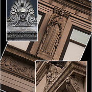 Architecture - Decorative Sculptures - Metal and Stonework