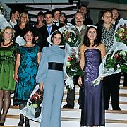 NLD/Hoorn/20101101- Premiere Je Anne, Abke Bruins speelt Anne, Thom Hoffman als Otto Frank, Marloes van den Heuvel  als Edith Frank, Sanne Bosmanis als Margot Frank, Frans Maes is de tandarts en Anne's kamergenoot Albert Dusse en Levi van Kempen als Peter van Daan