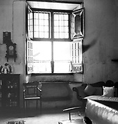India. Interior of a house near the synagogue on Cochin or Kochi.  Please note couch on right hand side.<br />