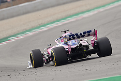 February 19, 2019 - Spain - Lance Stroll (Racing Point F1 Team) seen in action during the winter test days at the Circuit de Catalunya in Montmelo  (Credit Image: © Fernando Pidal/SOPA Images via ZUMA Wire)