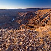 Looking into Fish River Canyon, Namibia. Kinda like the Grand Canyon of Namibia.