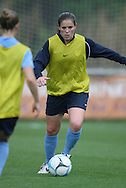 22 April 2008: Cat Whitehill. The United States Women's National Team held a training session on Field 3 at WakeMed Soccer Park in Cary, NC.