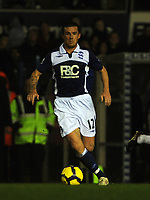 St Andrews Ground Birmingham City v Fulham (1-0) Premier League 21/11/2009<br /> Barry Ferguson (Birmingham)<br /> Photo Roger Parker Fotosports International