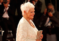 Judi Dench at the premiere of the film Victoria & Abdul at the 74th Venice Film Festival, Sala Grande on Sunday 3 September 2017, Venice Lido, Italy.
