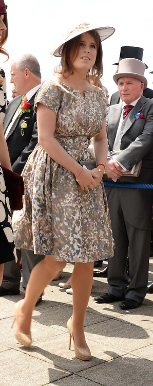 HRH PRINCESS EUGENIE at the Investec Derby 2013 held at Epsom Racecourse, Epsom, Surrey on 1st June 2013.