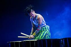 November 13, 2018 - Varna, Bulgaria - Yamato the drummers of Japan in the Bulgarian city of Varna some 460 km East the capital, Varna, Bulgaria on November 13, 2018  (Credit Image: © Hristo Rusev/NurPhoto via ZUMA Press)