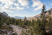 Duck Pass Trail in the John Muir Wilderness