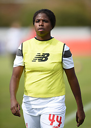 Satara Murray of Liverpool Ladies - Mandatory by-line: Paul Knight/JMP - Mobile: 07966 386802 - 13/09/2015 -  FOOTBALL - Stoke Gifford Stadium - Bristol, England -  Bristol Academy Women v Liverpool Ladies FC - FA WSL Continental Tyres Cup
