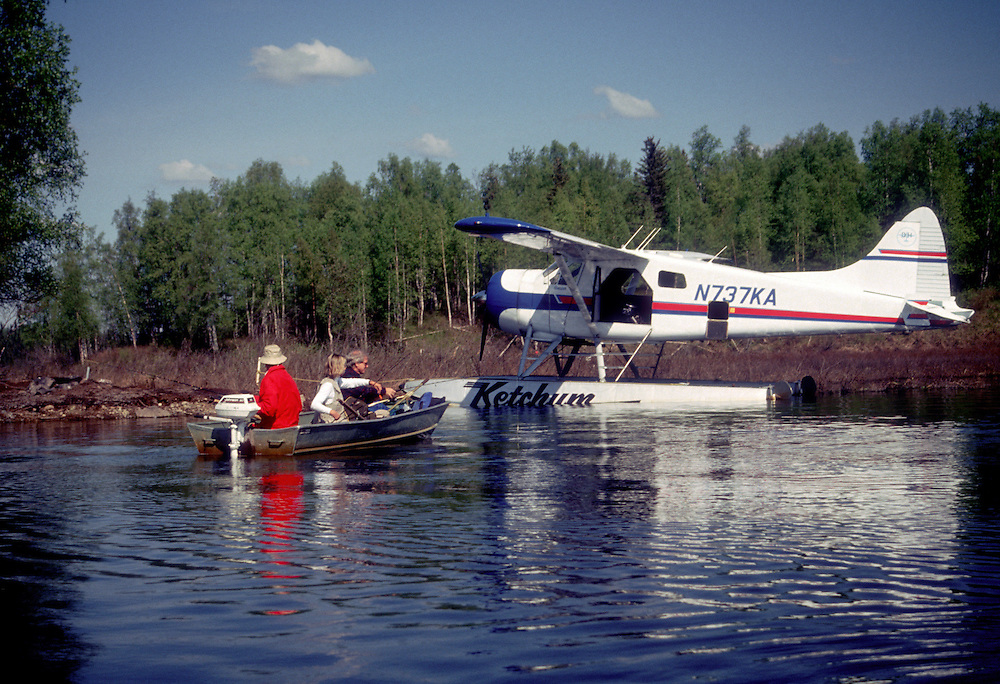 Anchorage, AK:  A day's fishing on an otherwise inaccessible inland lake is a short flight away.