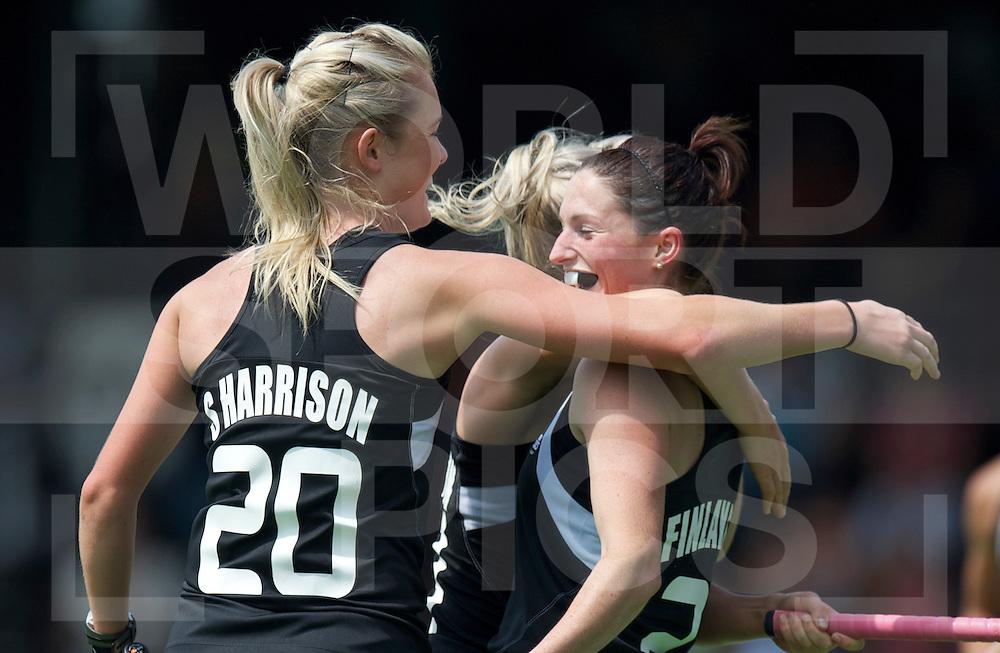AMSTERDAM - Champions Trophy women.Australia vs New zealand.foto: Cathryn Finlayson, left Charlotte Harrison, .FFU Press Agency  COPYRIGHT FRANK UIJLENBROEK..