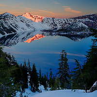 Crater Lake at Dawn