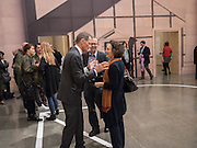 SIR NICHOLAS SEROTA; RICHARD BULL; JENNY WALDMAN, Historical Dances in an  antique setting., Pable Bronstein. Annual Tate Britain Duveens commission.  London. 25 April 2016
